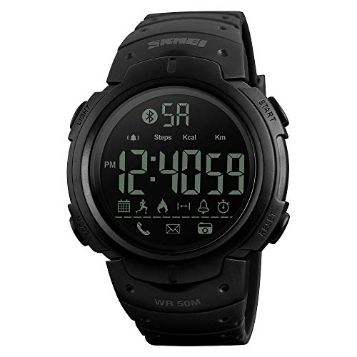 JiaMeng Smartwatches - SKMEI 1301 Impermeabile BT4.0 Sport Smart Watch Phone Mate Android IOS da...