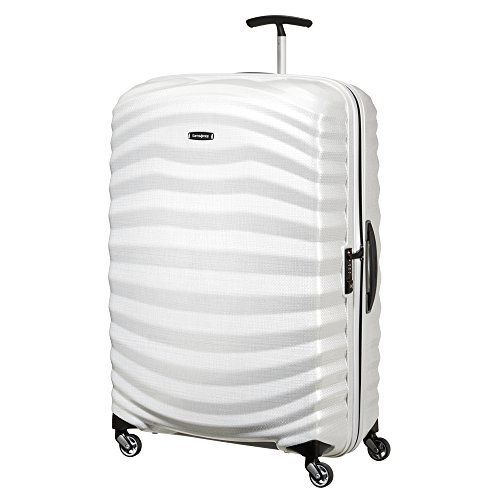 SAMSONITE Lite-Shock Spinner 81/30 Koffer, 81 cm, 124 L, Off White