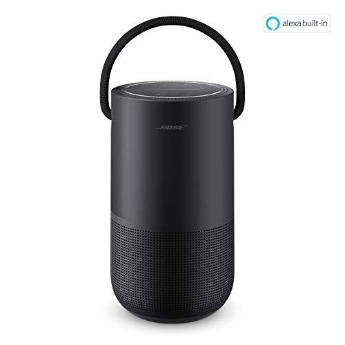 Bose Altoparlante Domestico Portabile con Controllo Vocale Alexa Integrato, Nero