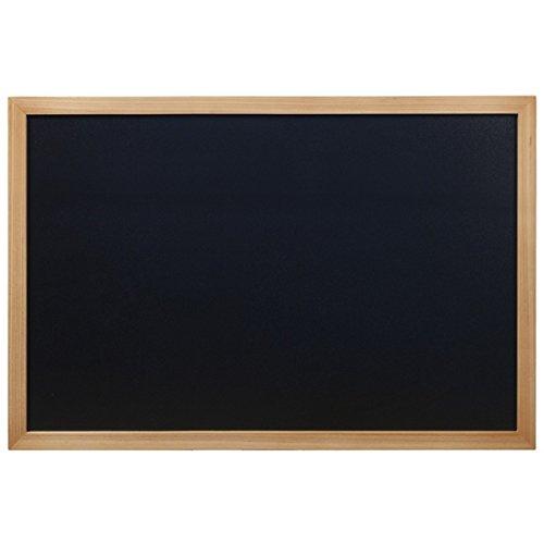 Genware nev-wbw-te-60–80Wall Chalk Board, teak, 60cm x 80cm