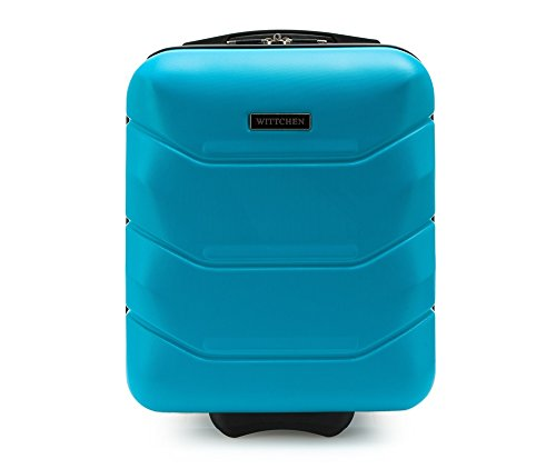 WITTCHEN Trolley Bagaglio a mano - Valigia rigida | Colore: Blu | Materiale: ABS | Dimensioni:...