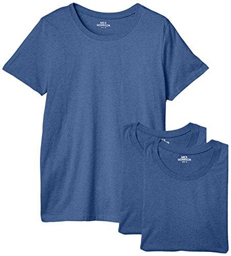 Mick Morrison Herren T-shirt Rundhals 3er Pack