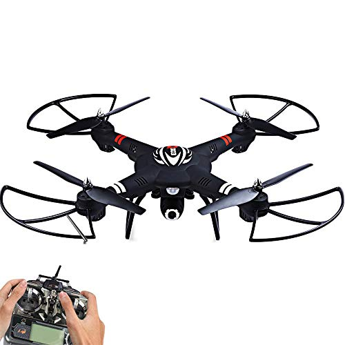 Q303 - C 2.4Ghz 4CH 6 Axis Gyro RC Quadcopter RTF Aereo con Fotocamera da 2.0MP One Press Automatic...