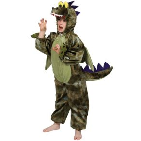 Dragon costume small 3-4 years (disfraz)