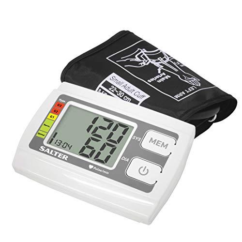 Salter Sfigmomanometro da braccio, Pressione sanguigna, Rilevatore di battito cardiaco, indicatore...
