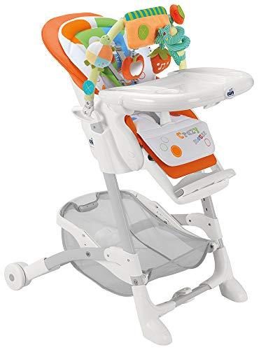 Cam il Mondo del Bambino S2400 Seggiolone, 235 / Arancio