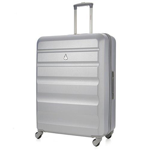 Aerolite - Trolley in ABS - Bagaglio da Stiva anti-urto e antigraffio - Valigia rigida e leggera...