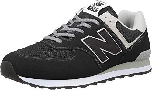 New Balance Herren 574v2 Core Sneaker, Schwarz (Black), 43 EU
