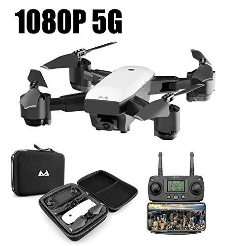 RC Drone Quadcopter, RC Quadricottero 2.4 GHz 1080 P 120 ° Wide Angle HD 6 Axis Elicottero...