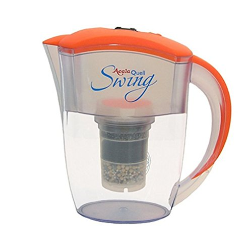 AcalaQuell Swing 2.4L water filter jug with cartridges bundle (orange) (2 months of AcalaQuell One/Swing) (1 cartridge)