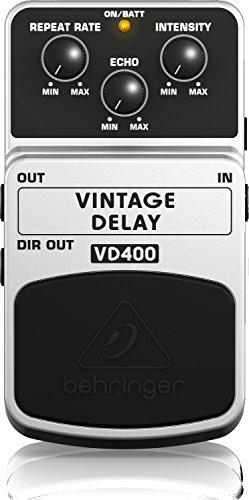 Behringer VD400 Delay Pedal, White