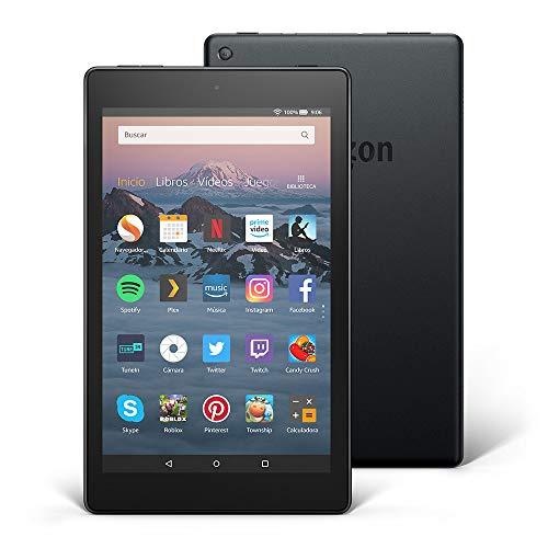 Tablet Fire HD 8 | Pantalla HD de 8 pulgadas, 16 GB, negro, incluye ofertas especiales