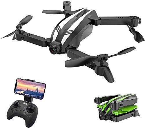 FEE-ZC Mini quadricottero Pieghevole Senza Testa, Mini Drone Selfie GW68 480P 720pWiFi con...