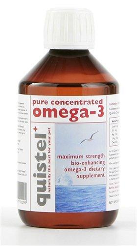 Quistel Puro Concentrado Omega-3 Suplemento Dietético para todos Mascotas (250ml)