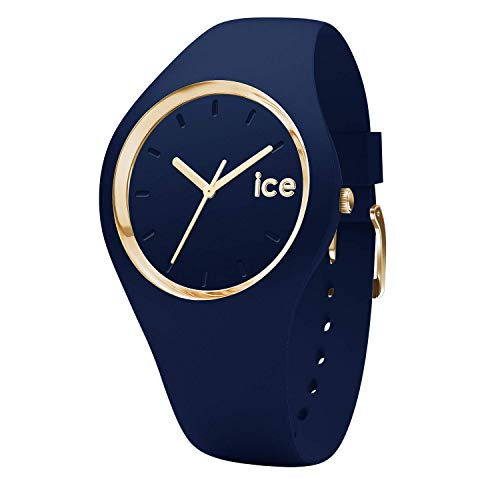 Ice-Watch - ICE glam forest Twilitght - Reloj blu para Mujer con Correa de silicona - 001059 (Medium)