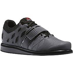 Reebok Lifter Pr, Chaussures de Fitness Homme, Gris (Ash Grey/Black/White), 45 EU
