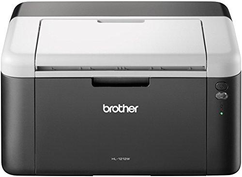 Brother HL-1212W Stampante Laser Monocromatica, Risoluzione 2400 x 600 DPI, Compatta, USB 2.0 e...