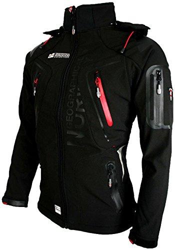 Giacca Giubbotto Uomo Geographical Norway Tangata Men Jacket Men (XXL, NERO)