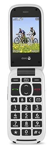 Doro PhoneEasy 613 Téléphone Portable à Rabat au Design élégant avec Appareil Photo 2MP, écran et Touches Larges, Bouton d'appel d'urgence 4