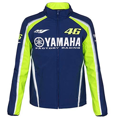 Valentino Rossi VR46 Moto GP M1 Yamaha Racing Soft Shell Chaqueta Oficial 2018