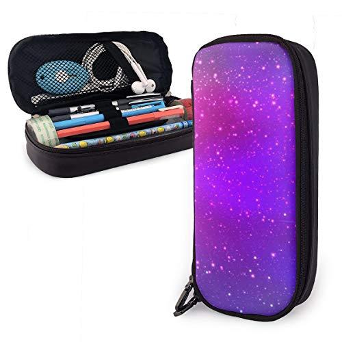 Nebula Galaxy, astuccio viola rosa per ragazzi e ragazze, grande astuccio portapenne per studenti,...