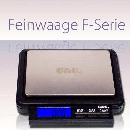 FH2000 2000g/0,1g-1000g/0,05g Taschenwaagen Feinwaage Digitalwaage Goldwaage Münzwaage Briefwage G&G