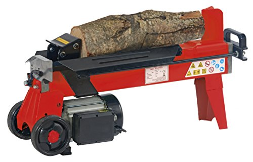 The electric log splitter is armed with an oversized motor that runs quietly for a less intrusive experience. It features a self-lubricating hydraulic ram with automatic return to significantly reduce the time you will spend splitting l