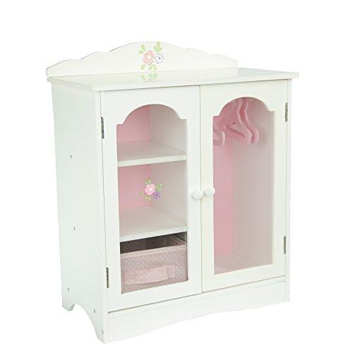 Guardaroba contenitore legno arredamento bambole 45 cmOlivia's World TD-0210A, Modelli/Colori...