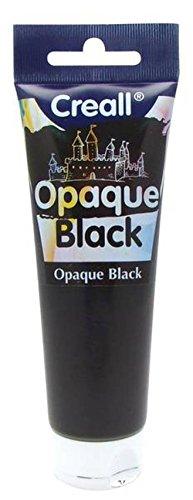 Creall Peinture noire à gratter en tube - 120 ml