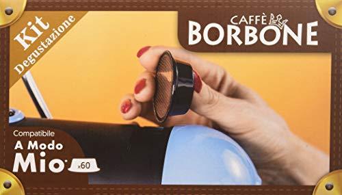 Caffè Borbone Kit Degustazione Compatibile Lavazza A Modo Mio - 60 Capsule