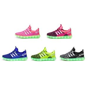 Hibote Girls' Trainers Green Green 28 41ubt833ouL