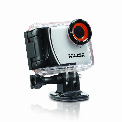 Nilox Mini Action Cam HD Ready 720p, 30 fps, Bianco