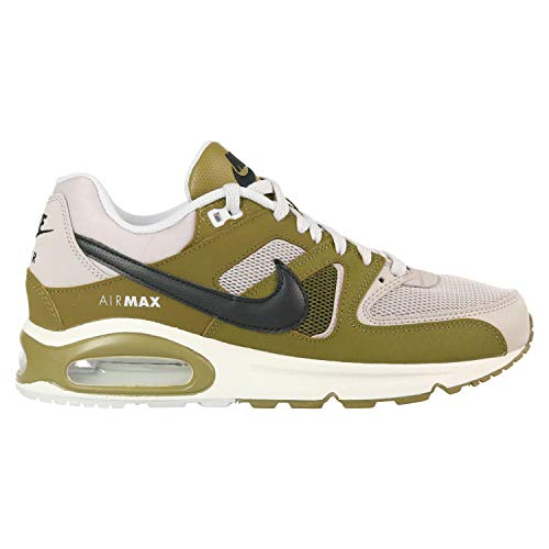 ecf058d40704d Nike Herren AIR MAX Command Laufschuhe Mehrfarbig (Moon  Particle Black-Olive Flak-