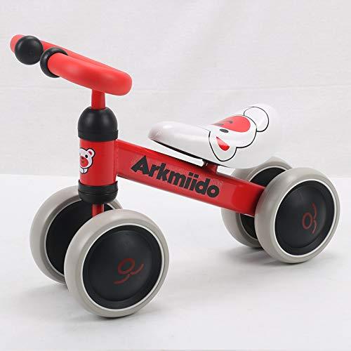 Arkmiido bicicletta per bambini 1-3 anni, Bicicletta Equilibrio Bambino, triciclo Senza Pedali,...