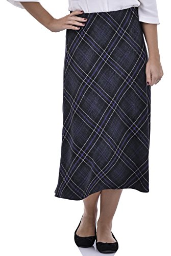 598efb133 Nightingale Collection Womens Winter Skirts Straight Flare Skirt  Herringbone Tweed ...