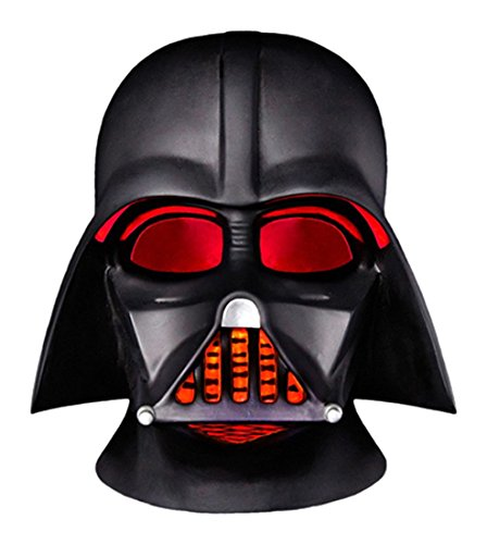 Groovy Elmetto Completo Darth Vader Star Wars Lampada LED da Scrivania con Funzionamento A Batteria...