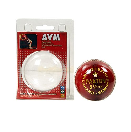 AVM Paxton Leather Ball (Red)