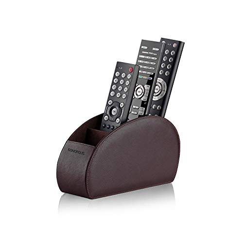 Sonorous Luxury Remote Control Holder-Brown