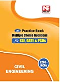 Civil Engineering: 3200 MCQs - Practice Book for ESE, GATE & PSUs