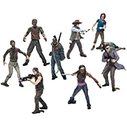 Walking Dead Tv Building Set Bmb Figures
