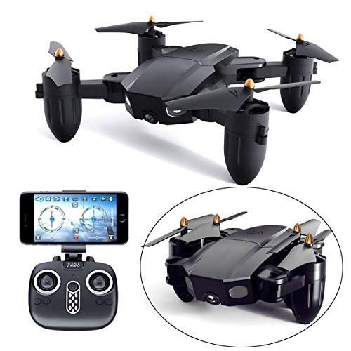 YYD FPV WiFi Drone, Brushless RC Droni, con Videocamera HD 720P per Filmati dal Vivo, Quadricottero RC con Funzione Headless,Facile da Controllare, per I Principianti