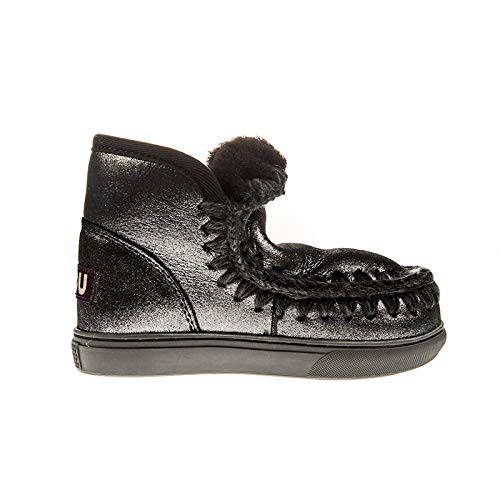 Mou Stivaletto Basso Eskimo Sneaker Kid Nero, 30