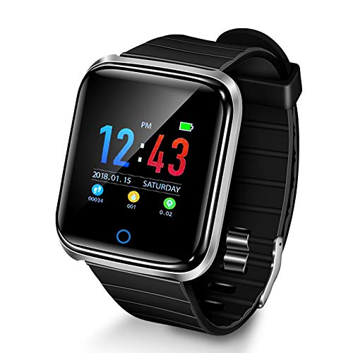 Huyeta Smartwatch Touch Scree Smartwatch Android iOS Orologio Fitness Tracker Uomo Donna Smart Watch...