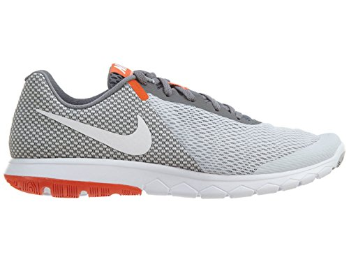 Nike Flex Experience Rn 6 Mens Style White-Cool Grey Shoes ... a4473fbce
