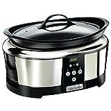 Crock-Pot SCCPBPP605 - Olla de cocción lenta digital...