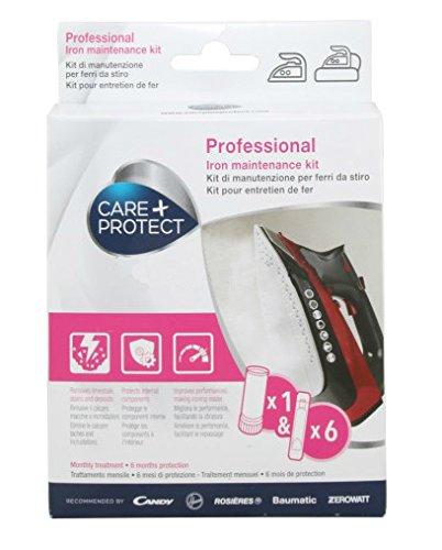 Care + Protect 35601791 - Kit manutenzione ferro, bianco