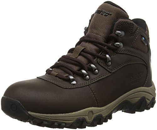 Hi-Tec Cascadia Waterproof Womens, Zapatos de High Rise Senderismo para Mujer, Marrón (Dark Chocolate 041), 37 EU