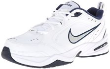 Nike-Air-Monarch-IV-Zapatillas-de-Gimnasia-para-Hombre-Blanco-WhiteMetallic-Silver-102-42-EU