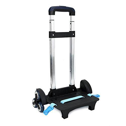 Carrello per zaino - Carrello con ruote Carrello in alluminio per carrello senza rotelle Lega di...