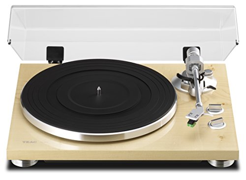 TEAC TN-300 Analog Turntable with Built-in Phono Pre-Amplifier & USB Digital Output (Natural)